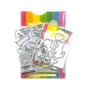 Birthday Puppies Stamp & Die Set - Waffle Flower Crafts