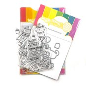 Birthday Kitties Stamp & Die Set - Waffle Flower Crafts