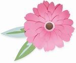 Gerbera Flower Thinlits Dies - Sizzix
