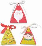Christmas Character Box Thinlits Dies - Sizzix