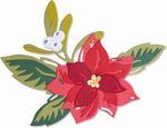 Layered Christmas Flower Thinlits Dies - Sizzix