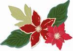 Seasonal Flowers Thinlits Dies - Sizzix