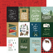 3x4 Journaling Cards Paper - Let's Go Camping - Echo Park