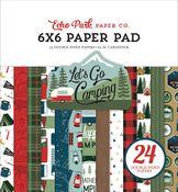 Let's Go Camping 6x6 Paper Pad - Echo Park - PRE ORDER