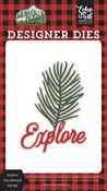 Explore Pine Branch Die Set - Let's Go Camping - Echo Park