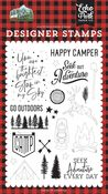 Seek Out Adventure Stamp Set - Let's Go Camping - Echo Park