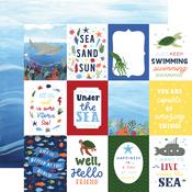3x4 Journaling Cards Paper - Under Sea Adventures - Echo Park