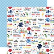 Vitamin Sea Paper - Under Sea Adventures - Echo Park