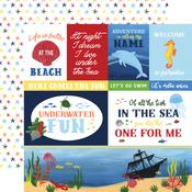 Multi Journaling Cards Paper - Under Sea Adventures - Echo Park