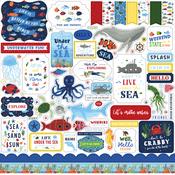 Under Sea Adventures Element Sticker - Echo Park