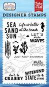 Make Waves Stamp Set - Under Sea Adventures - Echo Park