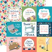 4X4 Journaling Cards Paper - Craft & Create - Carta Bella - PRE ORDER