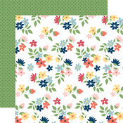 Sew Lovely Floral Paper - Craft & Create - Carta Bella - PRE ORDER