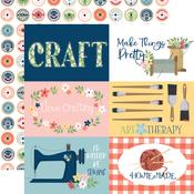 6X4 Journaling Cards Paper - Craft & Create - Carta Bella - PRE ORDER