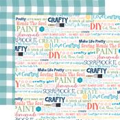 Crafty & Happy Paper - Craft & Create - Carta Bella - PRE ORDER