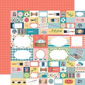 Handmade With Love Paper - Craft & Create - Carta Bella - PRE ORDER