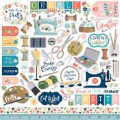 Craft & Create Element Sticker - Carta Bella - PRE ORDER