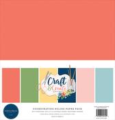 Craft & Create Solids Kit - Carta Bella - PRE ORDER