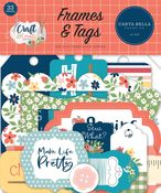 Craft & Create Frames & Tags - Carta Bella - PRE ORDER