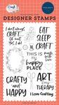 Crafty & Happy Stamp Set - Carta Bella