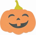 Autumn Pumpkin Bigz Die - Sizzix