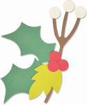 Christmas Nature Bigz Die - Sizzix