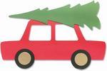 Car & Tree Bigz Plus Die - Sizzix
