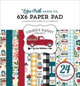 Farmer's Market 6x6 Paper Pad - Echo Park - PRE ORDER