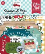 Farmer's Market Frames & Tags - Echo Park
