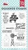 Home Sweet Home Stamp Set - Farmer's Market - Echo Park