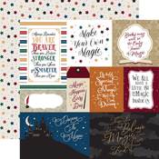 Multi Journaling Cards Paper - Witches & Wizards No. 2 - Echo Park