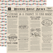 Wizards Daily News Paper - Witches & Wizards No. 2 - Echo Park - PRE ORDER