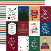 3x4 Journaling Cards Paper - Witches & Wizards No. 2 - Echo Park - PRE ORDER