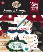 Witches & Wizards No.2 Frames & Tags - Echo Park - PRE ORDER