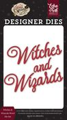 Witches & Wizards Word Die Set - Witches & Wizards No. 2 - Echo Park - PRE ORDER