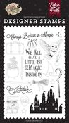 Believe In Magic Stamp Set - Witches & Wizards No. 2 - Echo Park