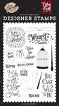 You Are Magic Stamp Set - Witches & Wizards No. 2 - Echo Park