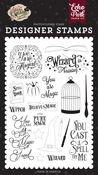 You Are Magic Stamp Set - Witches & Wizards No. 2 - Echo Park - PRE ORDER