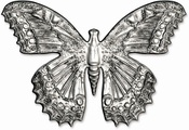 Butterfly 3-D Impresslits Embossing Folder by Tim Holtz - Sizzix - PRE ORDER