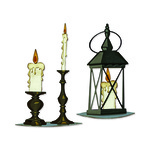 Candlelight Colorize Thinlits Dies by Tim Holtz - Sizzix - PRE ORDER