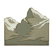 Mountain Top Thinlits Dies by Tim Holtz - Sizzix