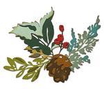 Holiday Brushstroke #2 Thinlits Dies by Tim Holtz - Sizzix