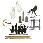 Halloween 2021 Thinlits Dies by Tim Holtz - Sizzix Vault Series