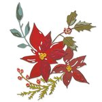 Festive Bouquet Thinlits Dies by Tim Holtz - Sizzix