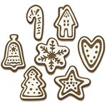 Christmas Cookies Thinlits Dies by Tim Holtz - Sizzix