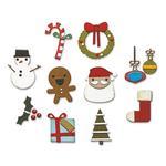 Christmas Minis Thinlits Dies by Tim Holtz - Sizzix