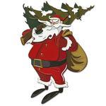 Woodland Santa Colorize Thinlits Dies by Tim Holtz - Sizzix