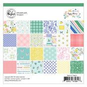 Happy Blooms 6x6 Paper Pack - Pinkfresh Studio - PRE ORDER