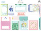 Happy Blooms Journaling Bits - Pinkfresh Studio - PRE ORDER