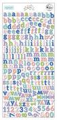 Happy Blooms Mini Alphabet Stickers - Pinkfresh Studio